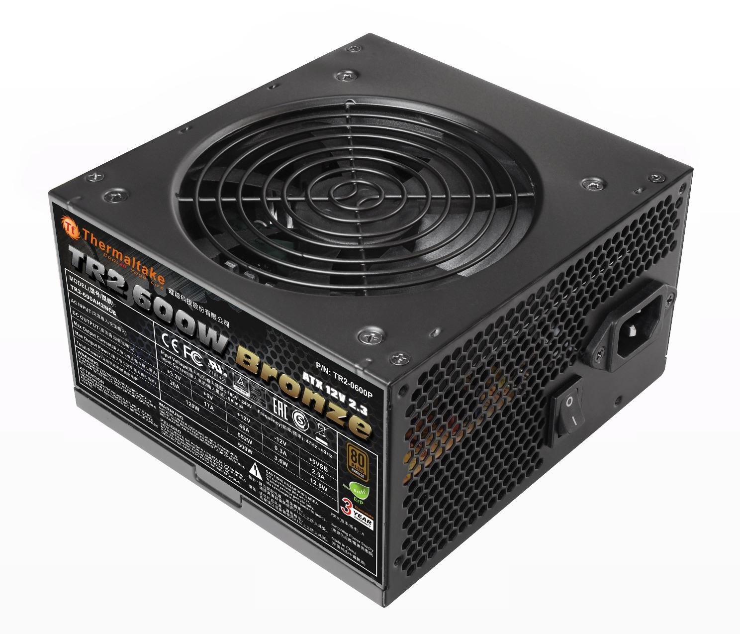 Thermaltake TR2 Bronze 600WPower Supply Units (1)