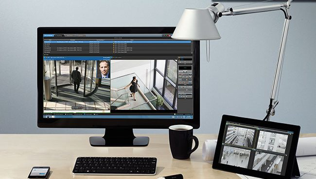 A fabricante de softwares de vídeo-vigilância apresentou maneiras de gerar dados estatísticos e ampliar a segurança em vias de grande circulação.