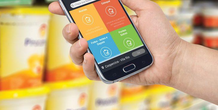 Direcionada ao trade marketing, ferramenta monitora equipe em tempo real, auxiliando no acompanhamento do trabalho dos promotores de vendas.