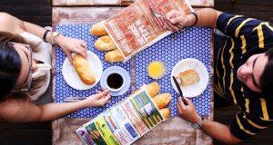Imagem Franquia de publicidade em sacos de pão