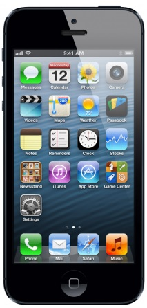 Imagem iPhone 5 preto