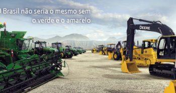 Imagem John Deere tecnologia e eficiência para o Agrobusines