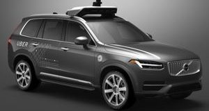 carro autônomo Volvo Uber