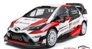 Imagem novo carro da Toyota para competições