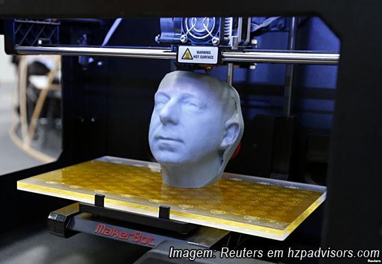 Imagem Impressora 3D cabeça