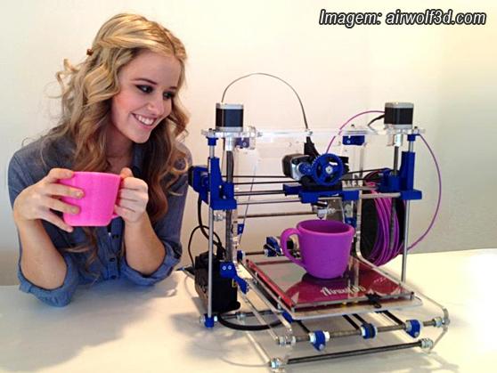 Imagem impressora 3D