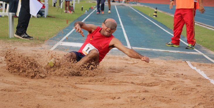 Imagem Cannon cobertura de atletismo