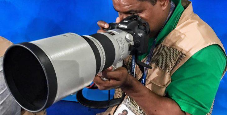 Cannon fotógrafo deficiente visual 2