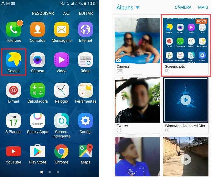 Galaxy J5 aplicativos fotografia