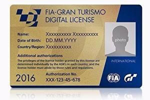 Imagem Games GT Pass credencial da FIA