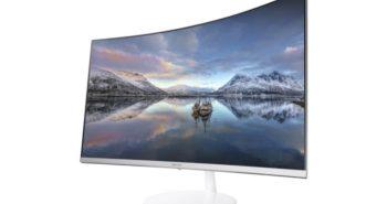 Imagem Samsung monitor tela curva som 360