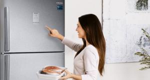Imagem refrigerador Samsung dicas economida energia