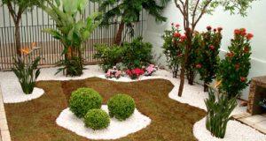 Imagem exemplo de jardim em pequenos espaços