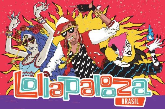 Imagem Lollapalooza Brasil atrações