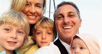 Imagem Angélica e familia