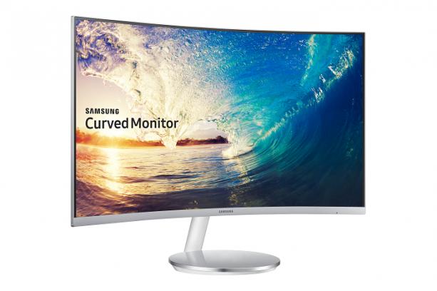 Imagem monitor curvo