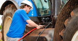 Imagem New Holland trator biogás