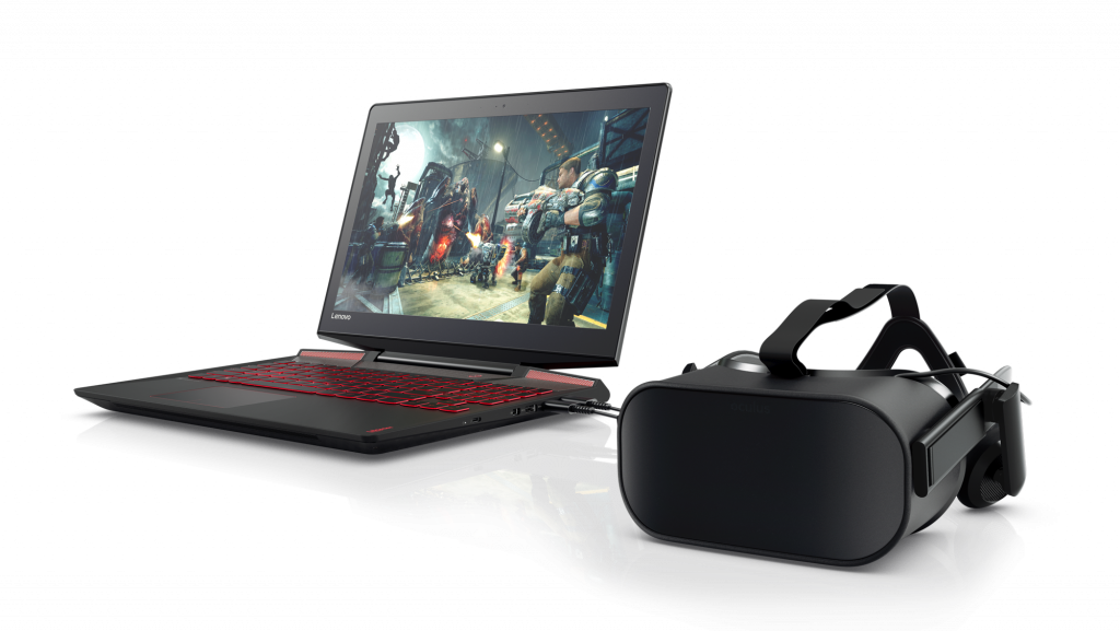 VR ready Lenovo Legion Y720 Laptop 1024x577