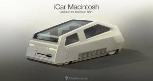 Imagem Apple iCar Macintosh