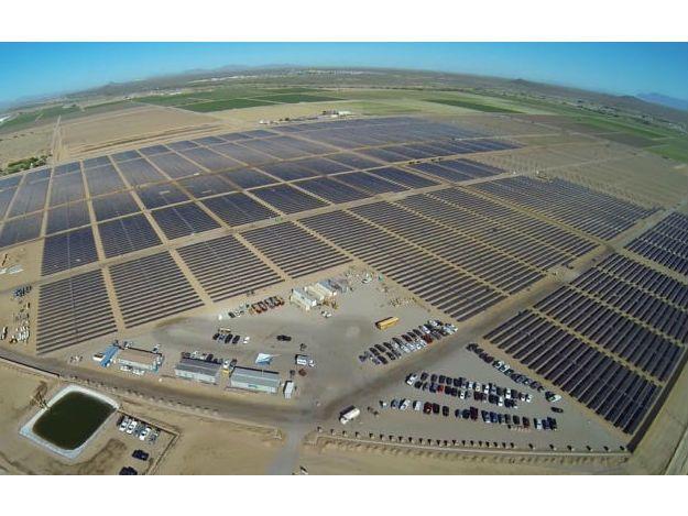 Imagem Apple usina Solar E.U.A