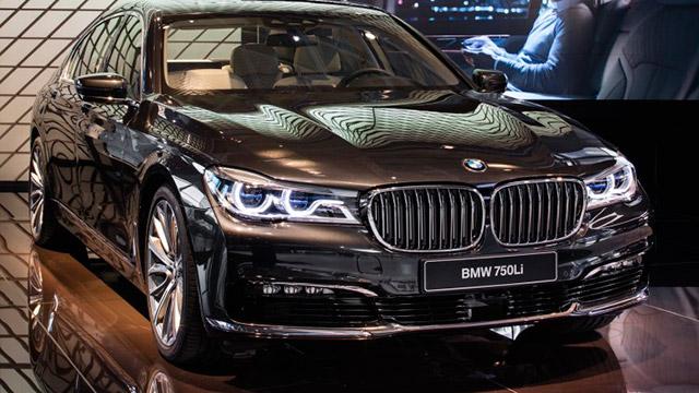 Imagem BMW - carros autônomos