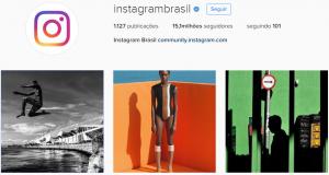 Imagem instagram Brasil