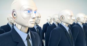 Robôs Executivos profissionais em seguradora Japonesa