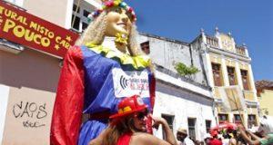 Boneca carnaval