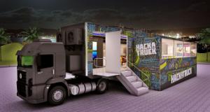 Imagem caminhão IBM divulgação