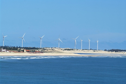 Imagem parque eólico