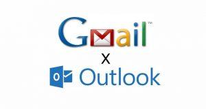 Outlook versus Gmail