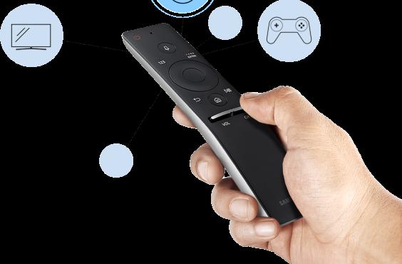 Imagem Samsung controle da smart tv