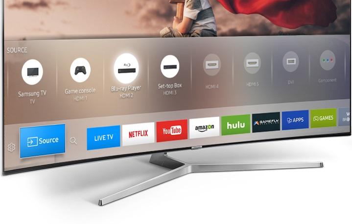 Imagem Samsung smart tv convergência