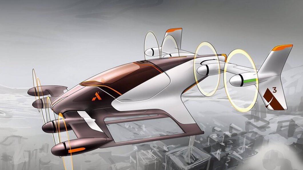 Imagem Airbus carro voador