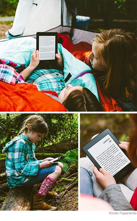 Novo Kindle - leitura crianças