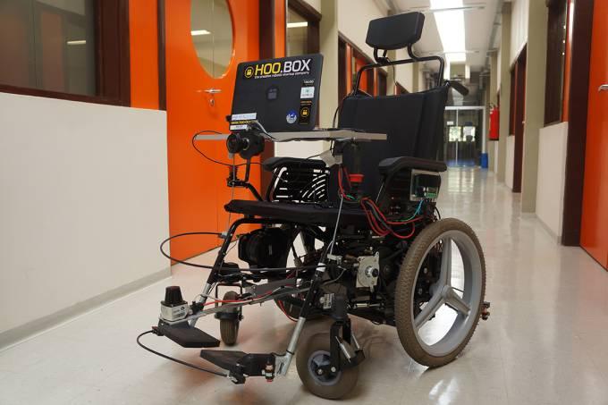 Imagem cadeira de rodas Startup Hoo.Box