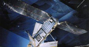 Imagem Irídium satélite em órbita