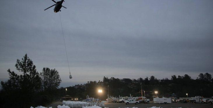 Imagem resgate  helicóptero