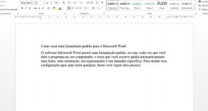 Imagem Microsoft dica formatação