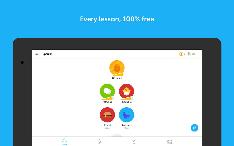 Duolingo ingês grátis