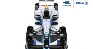 Formula E Championship Car - Allianz Branding_Cockpit Top (2)