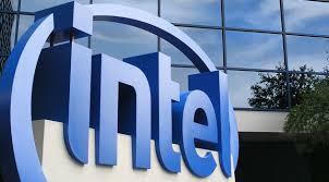 Logomarca da Intel - migração para nuvem