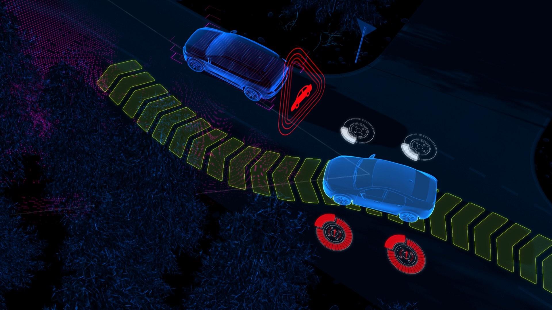 Imagem Volvo direção inteligente