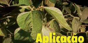 Aplicação de fungicida soja