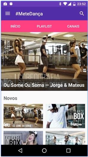 App #MeteDança