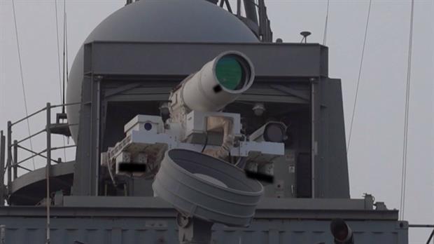canhão de laser