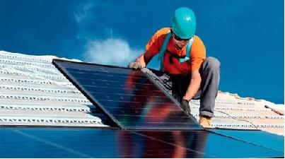 Painel segmento fotovoltaico