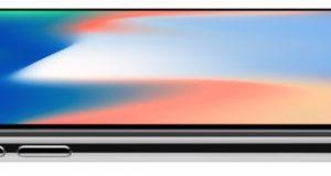 iPhone X - design tela