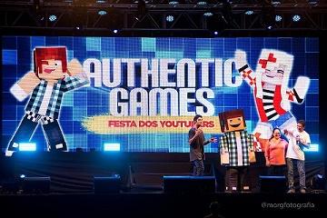 Authenticgames O Show Festa Dos Youtubers Em Sao Paulo Overbr