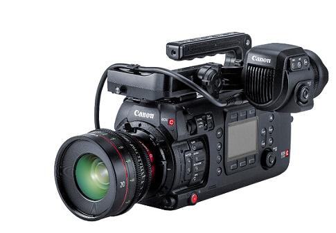 Câmera cinematográfica EOS C700 FF Canon